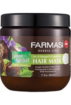 Farmasi Pure Herbal Yoğun Onarıcı Saç Maskesi