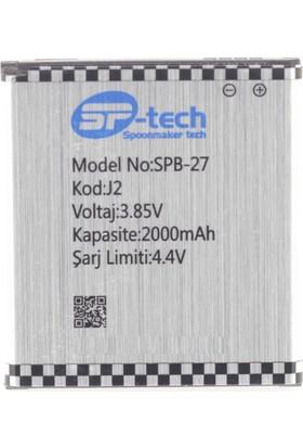 SP-Tech Samsung Galaxy J2 J200 Batarya Pil 2000mAh