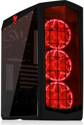 SilverStone Primera Serisi PM01BR-W Pencereli 2xUSB 3.0 4 Fanlı Siyah ATX Kasa(SST-PM01B-RGB)