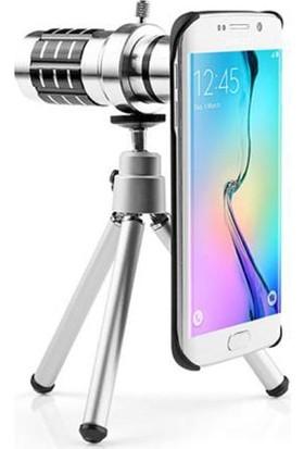 Markacase Samsung S8 Plus Birebir Kılıflı 12X Zoom Teleskop Telefon Kamera Lensi