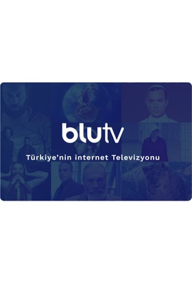 BluTV 3 Aylık Dijital Abonelik Kodu / E-pin