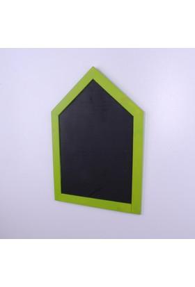 Kozanat Ahşap Ev Model Kara Tahta - Fıstık Yeşili