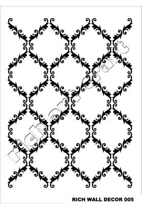 Rich Duvar Stencilı 50X70Cm - 05