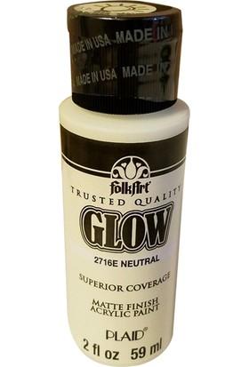 Plaid Folkart Fosforlu Akrilik Boya 59 Ml - 2716 Neutral Glow
