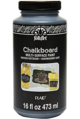 Plaid Folkart Chalkboard Kara Tahta Boyası 473Ml. N:2725 Black