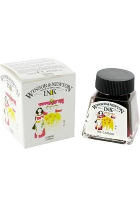 Winsor & Newton Çini Mürekkebi 14Ml - Carmine