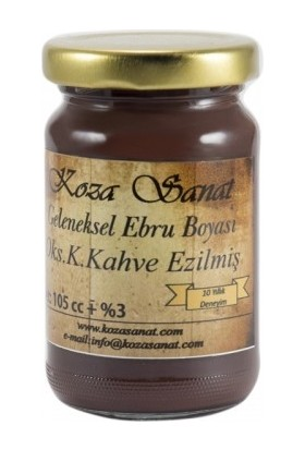 Koza Sanat Geleneksel Ebru Boyası 105Cc - Oksit Koyu Kahve