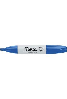 Sharpie Kesik Uç Kalem - Chisel Tip Mavi
