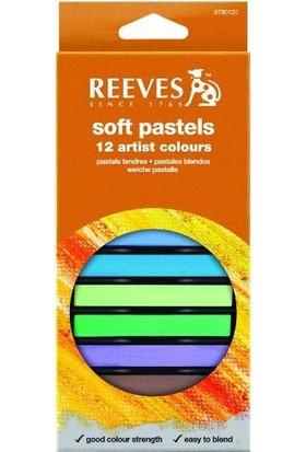 Reeves Soft Pastels 12 Renk