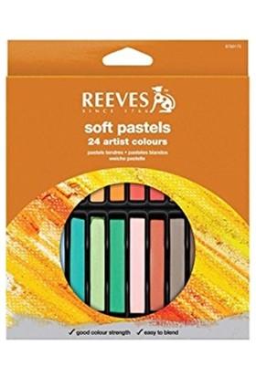 Reeves Soft Pastel 24 Renk