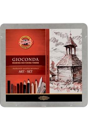 Koh-İ-Noor 8899 Gioconda Art Set Karakalem Çizim Seti