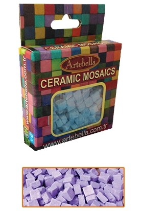 Artebella Seramik Mozaik 6710 Mor 8X8 Mm