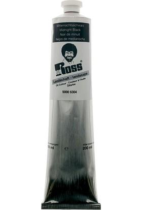 Bob Ross Yağlı Boya 200Ml - Black