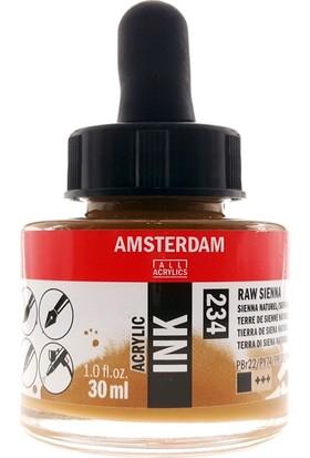 Talens Amsterdam Akrilik Mürekkebi 30Ml - N:234 Raw Sienna