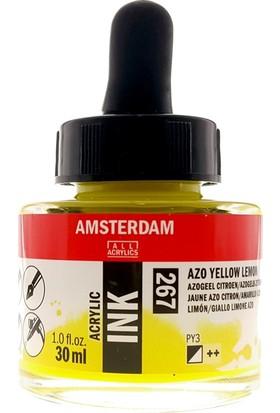 Talens Amsterdam Akrilik Mürekkebi 30Ml - N:267 Azo Yellow Lemon