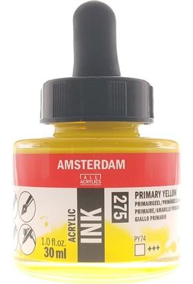 Talens Amsterdam Akrilik Mürekkebi 30Ml - N:275 Primary Yellow