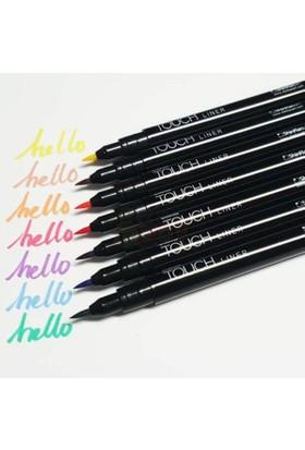 Touch Liner Brush Çizim Kalemi Fırça Uç 7 Renk Set