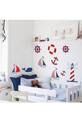 DekorLoft Denizci Çocuk Odası Duvar Sticker CS-01