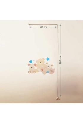 Anne Yatağı Cibinlik Demiri - 200x80 Cm - Anne Yataklarına Uygun Cibinlik Demiri