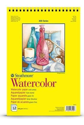 Strathmore Watercolor Suluboya Defteri 300Gr 12 Sayfa A4 N:360-G