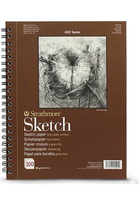 Strathmore Sketch Çizim Defteri 89Gr. - A4 N:455-94
