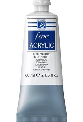 Lefranc & Bourgeois Fine Akrilik Boya 60Ml N:045 Blue Purple