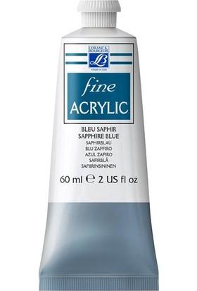 Lefranc & Bourgeois Fine Akrilik Boya 60Ml N:048 Sapphire Blue