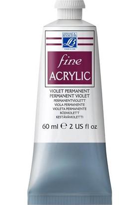 Lefranc & Bourgeois Fine Akrilik Boya 60Ml N:631 Permanent Violet