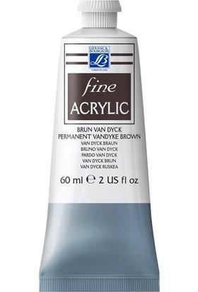 Lefranc & Bourgeois Fine Akrilik Boya 60Ml N:111 Prem. Vandyke Brown