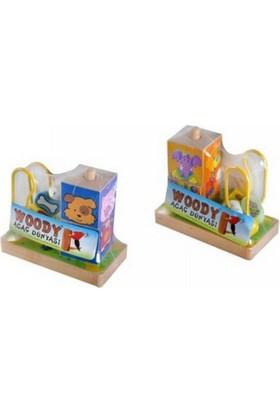 Woody Tahta Boncuk Oyun Küp Puzzle Bj-23S00005556