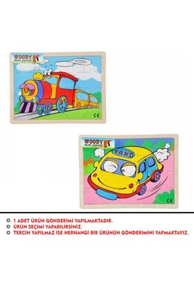 Woody Tahta Puzzle 20 Parça Araçlar Bj-23S00006041