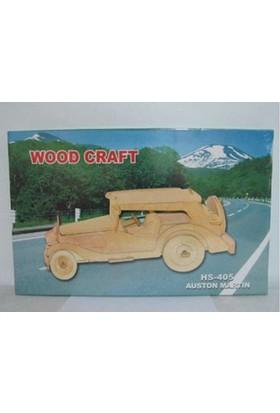 Woodoy Ahşap Puzzle Aston Martın Bj-18405