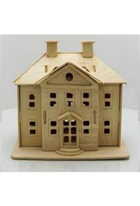 Woodoy Ahşap Puzzle Whıte Palace Bj-182311