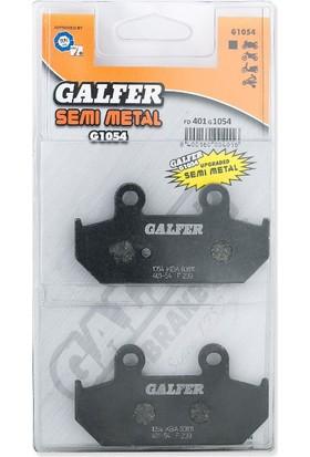 Galfer FD401G1054 (FA412V) Yarı Metalik Motosiklet Fren Balatası