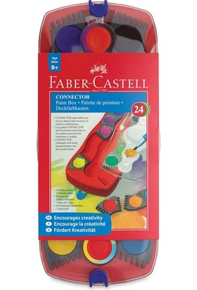 Faber-Castell Connector Sulu Boya Seti 24 Renk