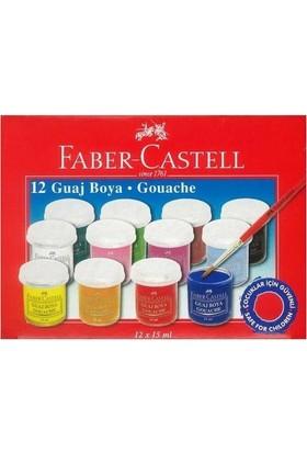 Faber Castell Guaj Boya 12X15Ml
