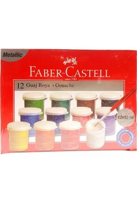 Faber Castell Metalik Guaj Boya 12X15Ml