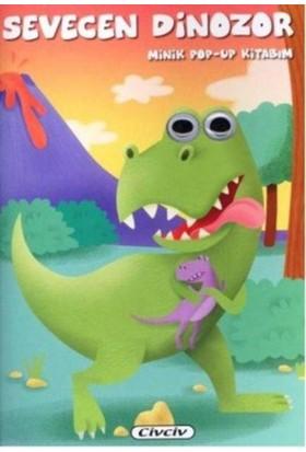 Minik Pop-Up Kitabım-Sevecan Dinozor