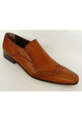 Ales Taba Klasik Abiye Erkek Ayakkabı