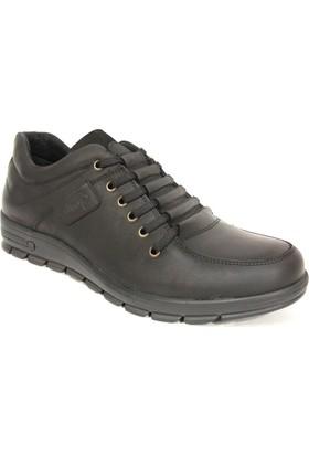 Dropland 3330 Siyah Bağcıklı Casual Erkek Ayakkabı