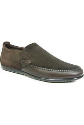 Dropland 3439 Kahve Bağcıksız Casual Erkek Ayakkabı