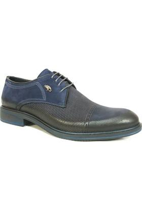 Dropland 3465 Lacivert Bağcıklı Erkek Ayakkabı