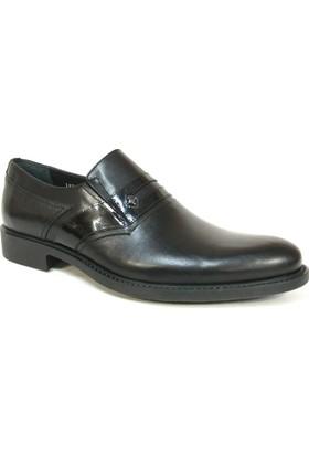 Fastway 1905 Siyah Bağcıksız Klasik Erkek Ayakkabı