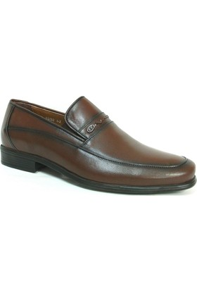 Fastway 2030 Kahverengi Bağcıksız Erkek Ayakkabı