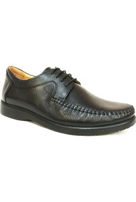 Fastway 2099 Siyah Bağcıklı Comfort Erkek Ayakkabı