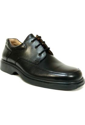 Fastway 219 Siyah Bağcıklı Comfort Erkek Ayakkabı