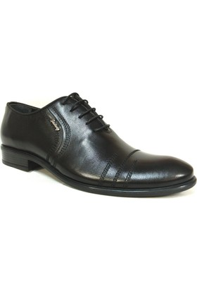 Fastway 2282 Siyah Bağcıklı Klasik Erkek Ayakkabı