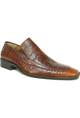 Fastway 473 Kahverengi Bağcıksız Erkek Ayakkabı