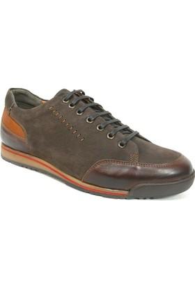 Fierro 1007 Kahve Taba Bağcıklı Casual Erkek Ayakkabı
