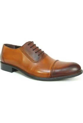 Grotto 115512 Taba Bağcıklı %100 Deri Erkek Ayakkabı